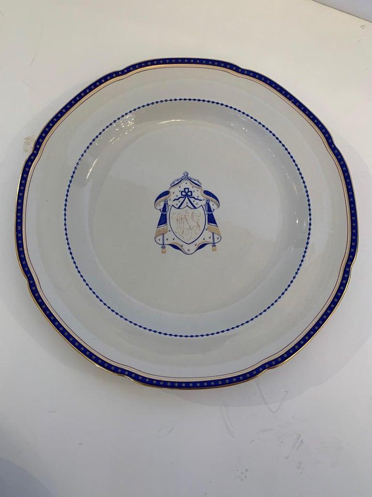 Set of 9 Antique Copeland Spode Dinner Plates For Sale 3