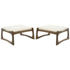 Set of Adrian Pearsall for Crafts Associates Footstools, 1950s