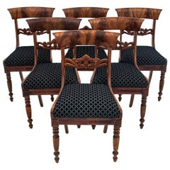 Set of Antique Chairs from circa 1880, after Renovation