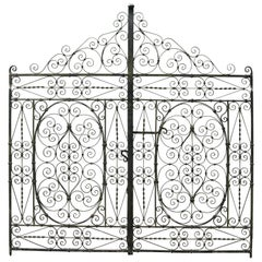 Set of Antique Wrought Iron Garden Gates