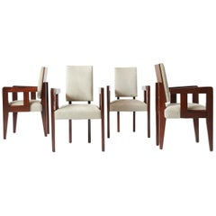 Set of Armchairs by Andre Sornay