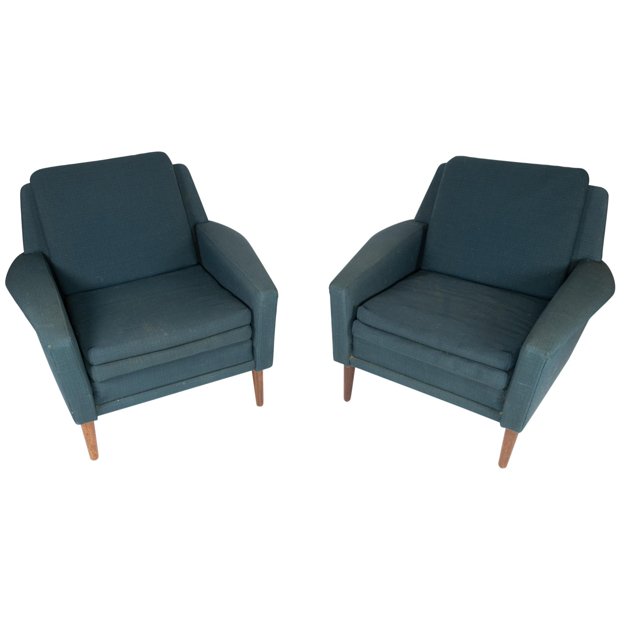 Set of Armchairs by Fritz Hansen from the 1960s