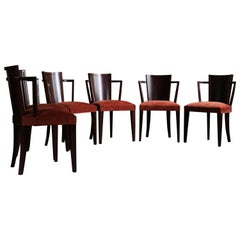Set of Art Deco Chairs by Pierre Chareau