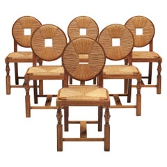 Set of Art Deco Dining Chairs
