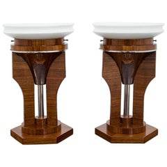 Set of Art Deco Table Lamps