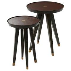 Set of Art Deco Wine Tables