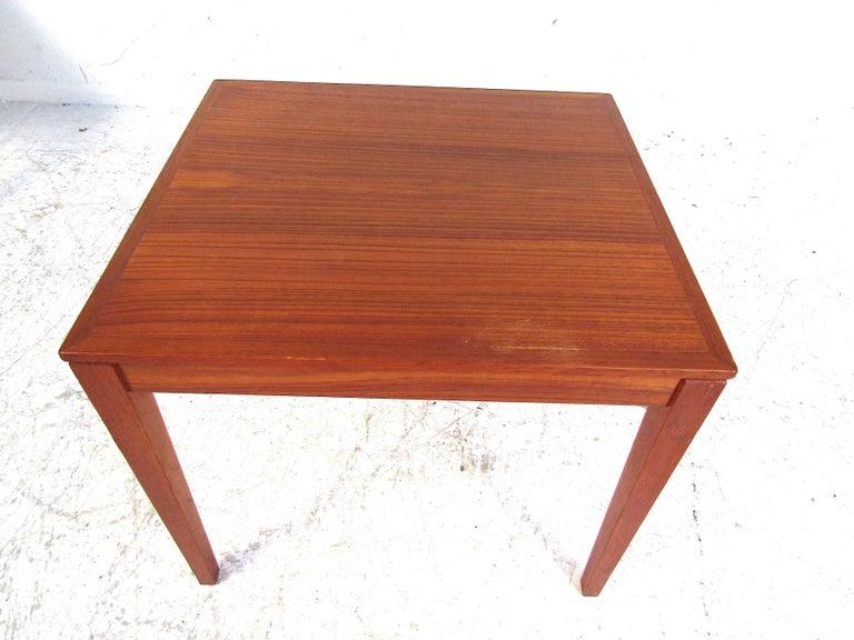 Set of Bent Silberg Danish Nesting Tables For Sale 4
