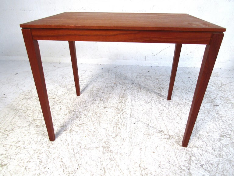 20th Century Set of Bent Silberg Danish Nesting Tables For Sale