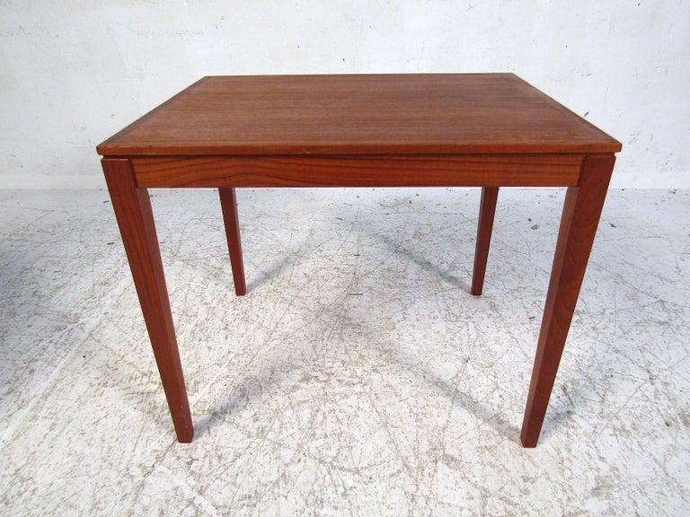 Set of Bent Silberg Danish Nesting Tables For Sale 1