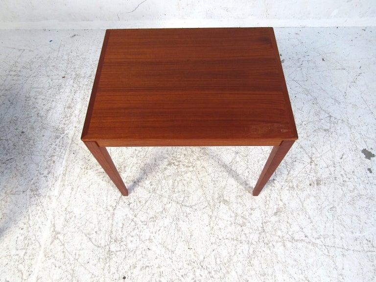 Set of Bent Silberg Danish Nesting Tables For Sale 2