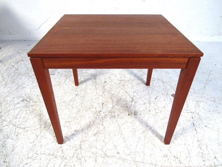 Set of Bent Silberg Danish Nesting Tables For Sale 3