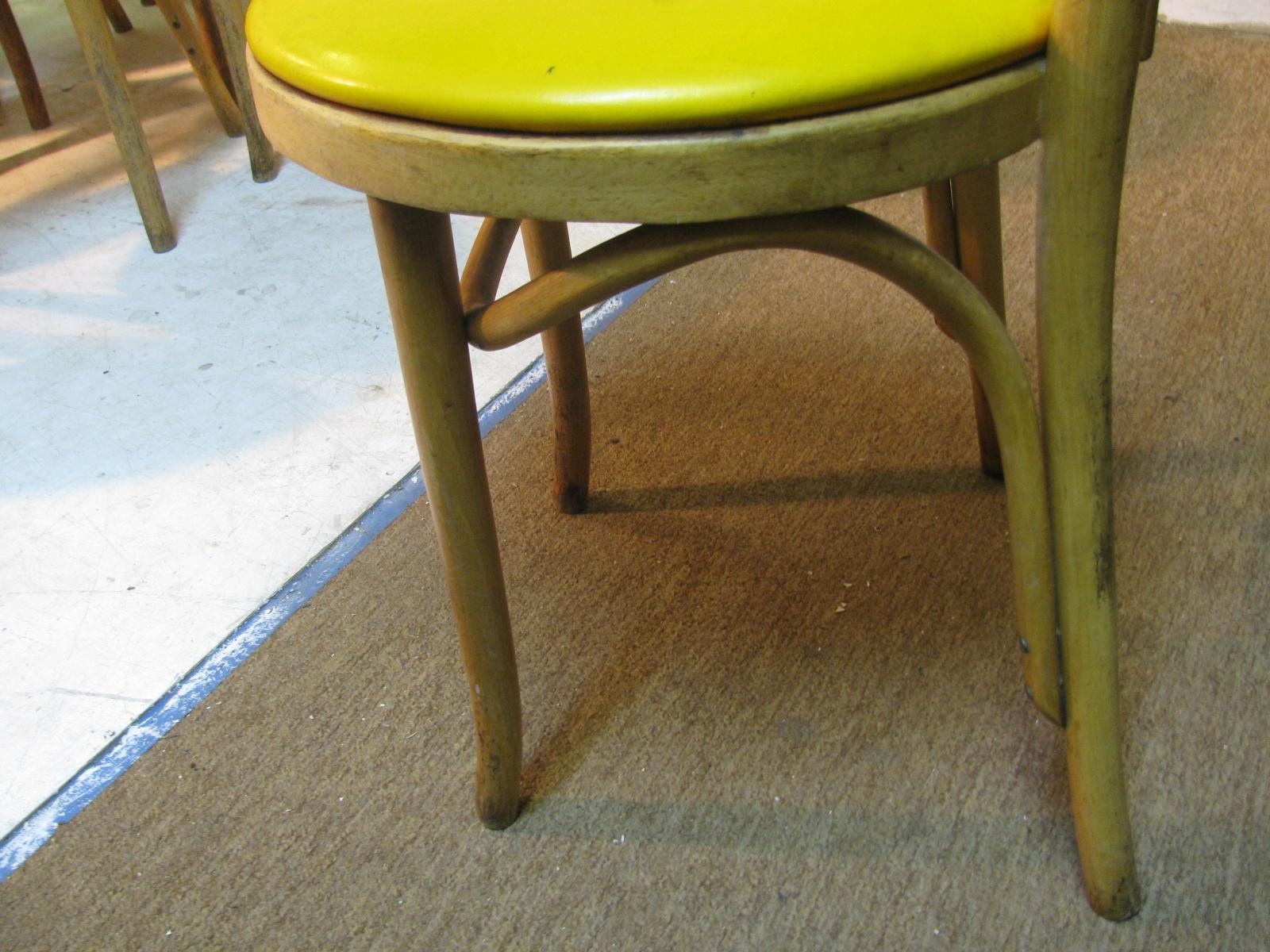 Pair Of Thonet Bentwood Cafe Bistro Dining Chairs For Sale 2