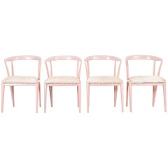 Set of Bertha Schaefer Dining Chairs