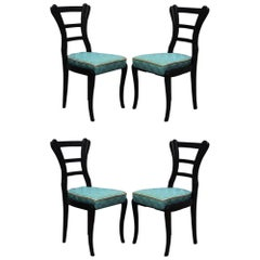 Set of Biedermeier Chairs, 1820