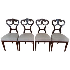 Set of Biedermeier Chairs