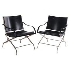 Set of Black Carlotta Chairs by Antonio Citterio, 1990s