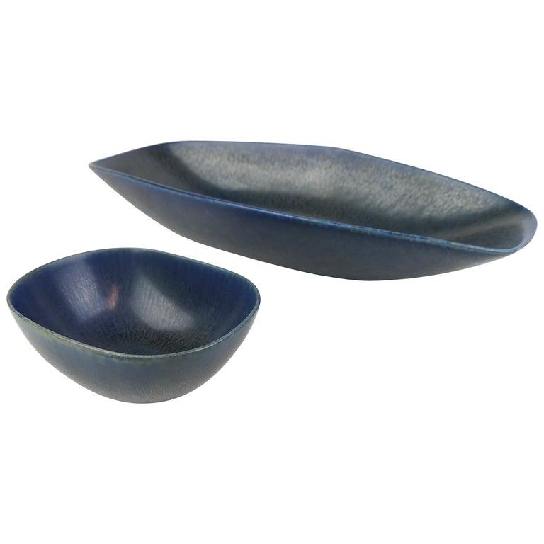 Set of Bowls Carl-Harry Stålhane Rörstrand Sweden, 1960s For Sale