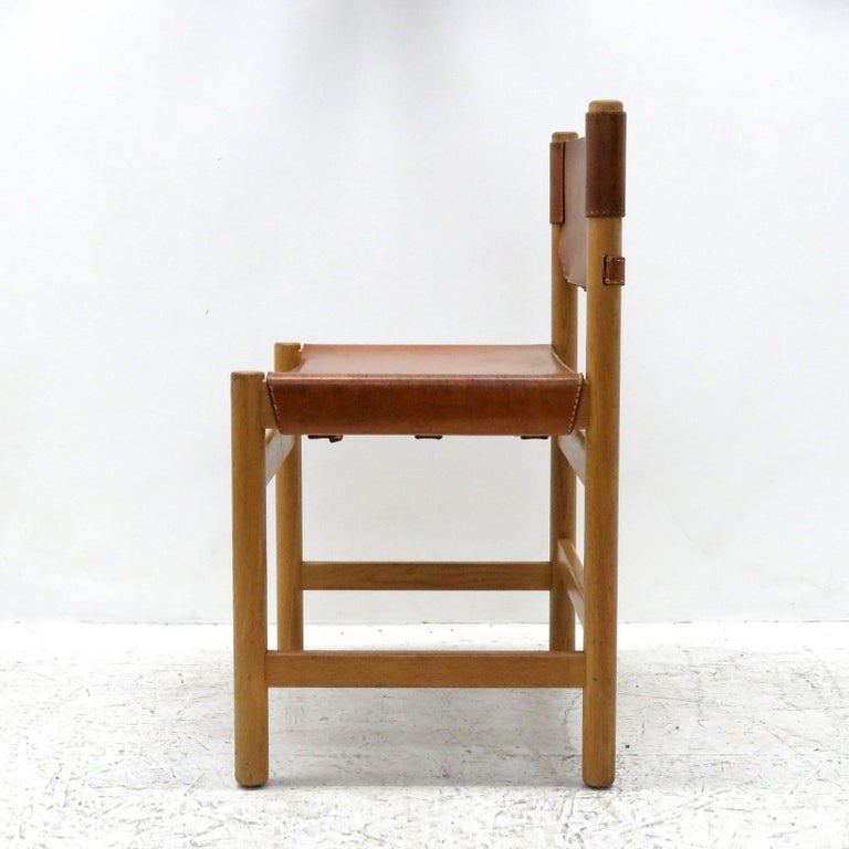 Swedish Set of Børge Mogensen Dining Chairs, 1961 For Sale