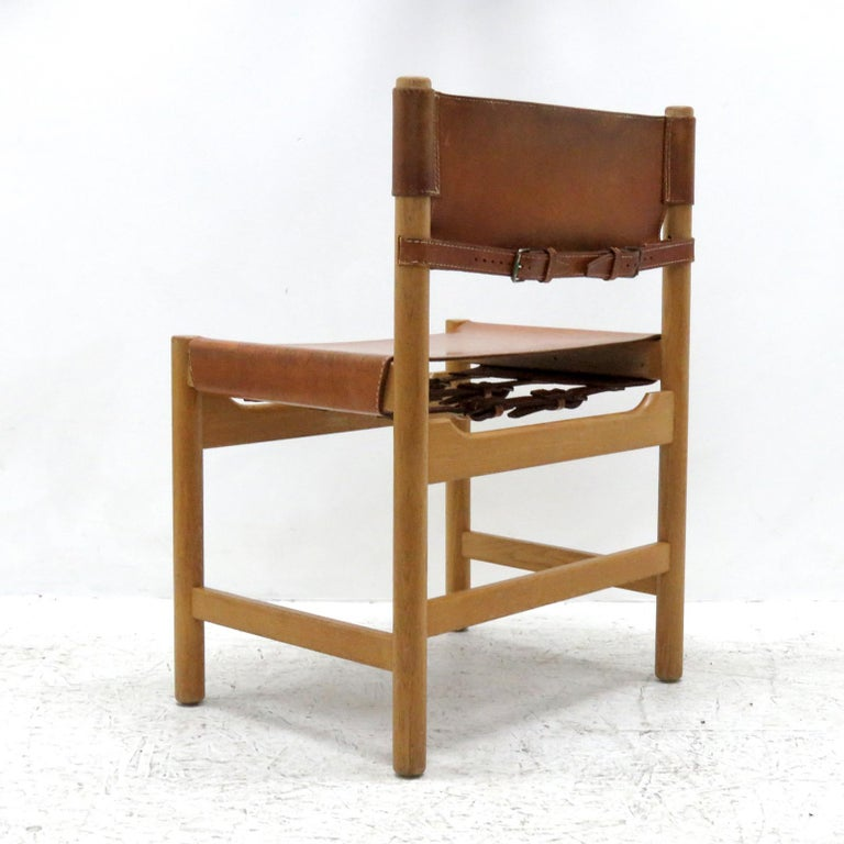 Set of Børge Mogensen Dining Chairs, 1961 In Good Condition For Sale In Los Angeles, CA