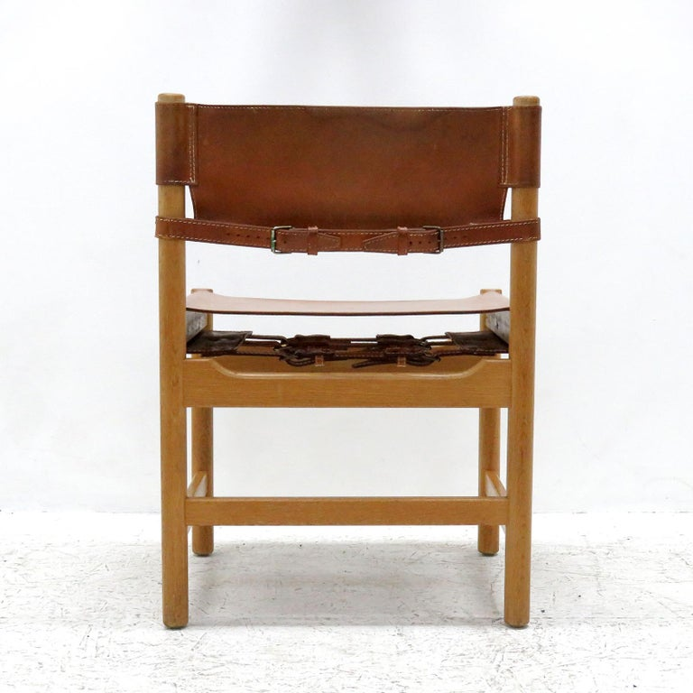 Mid-20th Century Set of Børge Mogensen Dining Chairs, 1961 For Sale