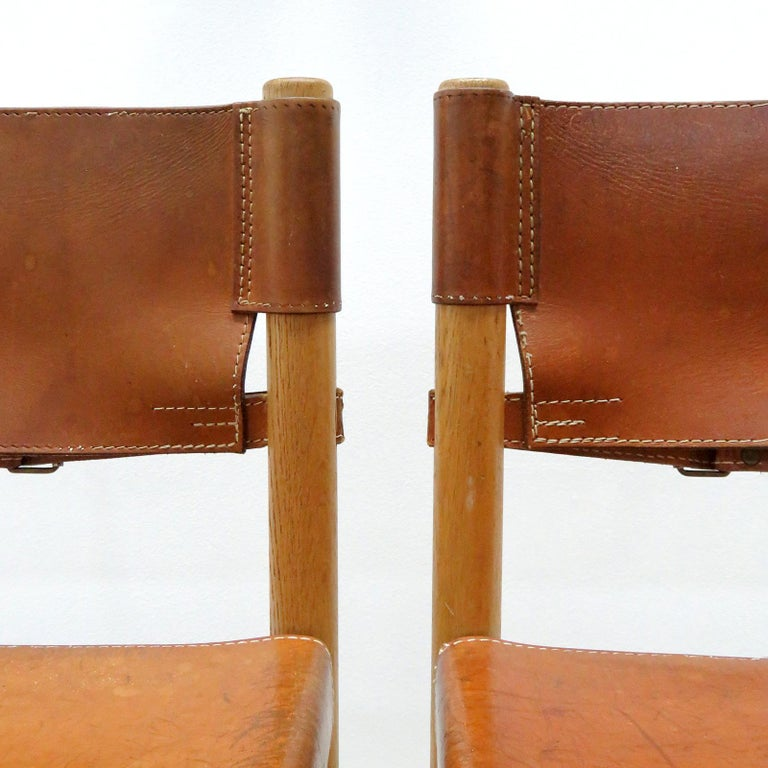 Set of Børge Mogensen Dining Chairs, 1961 For Sale 2