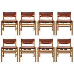 Set Børge Mogensen Esszimmerstühle, 1961