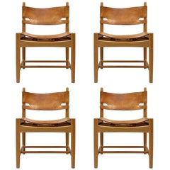 Set of Børge Mogensen 'Hunting' Chairs, Model 3237