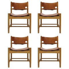 Set of Børge Mogensen 'Hunting' Chairs, Model 3237