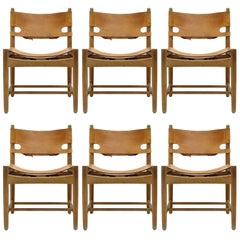 Set of Børge Mogensen 'Hunting' Chairs, Model 3251