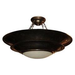Set of Bronze Art Deco Light Fixtures, Sold Individually