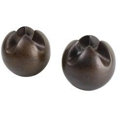 Set of Candleholder Balls by Van De Vaart