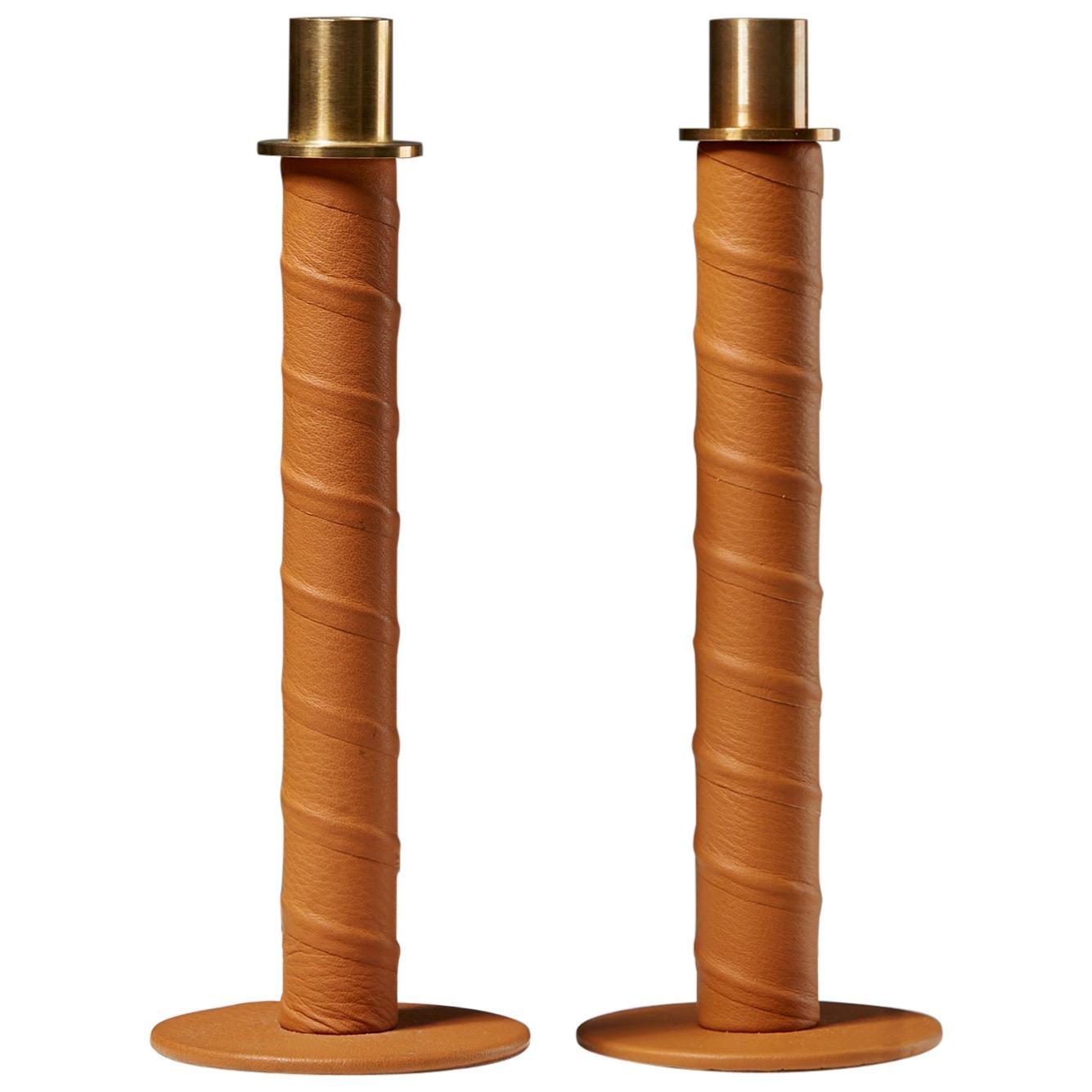 """Set of Candlesticks """"Herrgård"""" Designed by Alexander Lervik, Sweden, 2013"""
