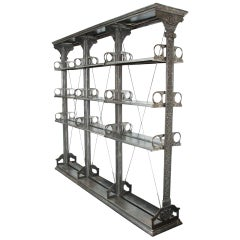 Set of Cast Iron Shelves by Lucy & Co of Oxford