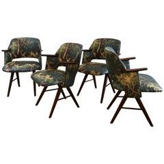 Set of Cees Braakman Dining Chairs, Dedar Limited Edition by Martin & Brockett