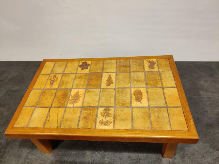 Set of Ceramic Coffee Tables, 1960s In Fair Condition For Sale In Ottenburg, BE