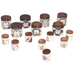 Set of Ceramic Spice Jar