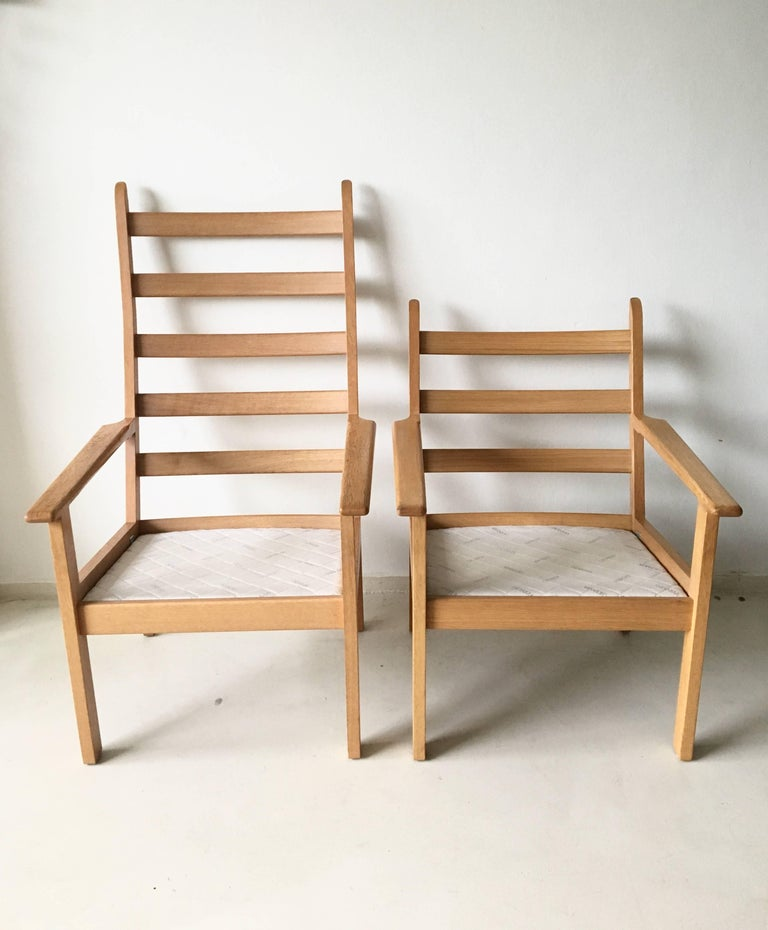 Set of Chairs by Hans Wegner for GETAMA, 1980s For Sale 1