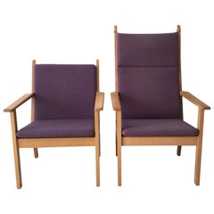 Set of Chairs by Hans Wegner for GETAMA, 1980s