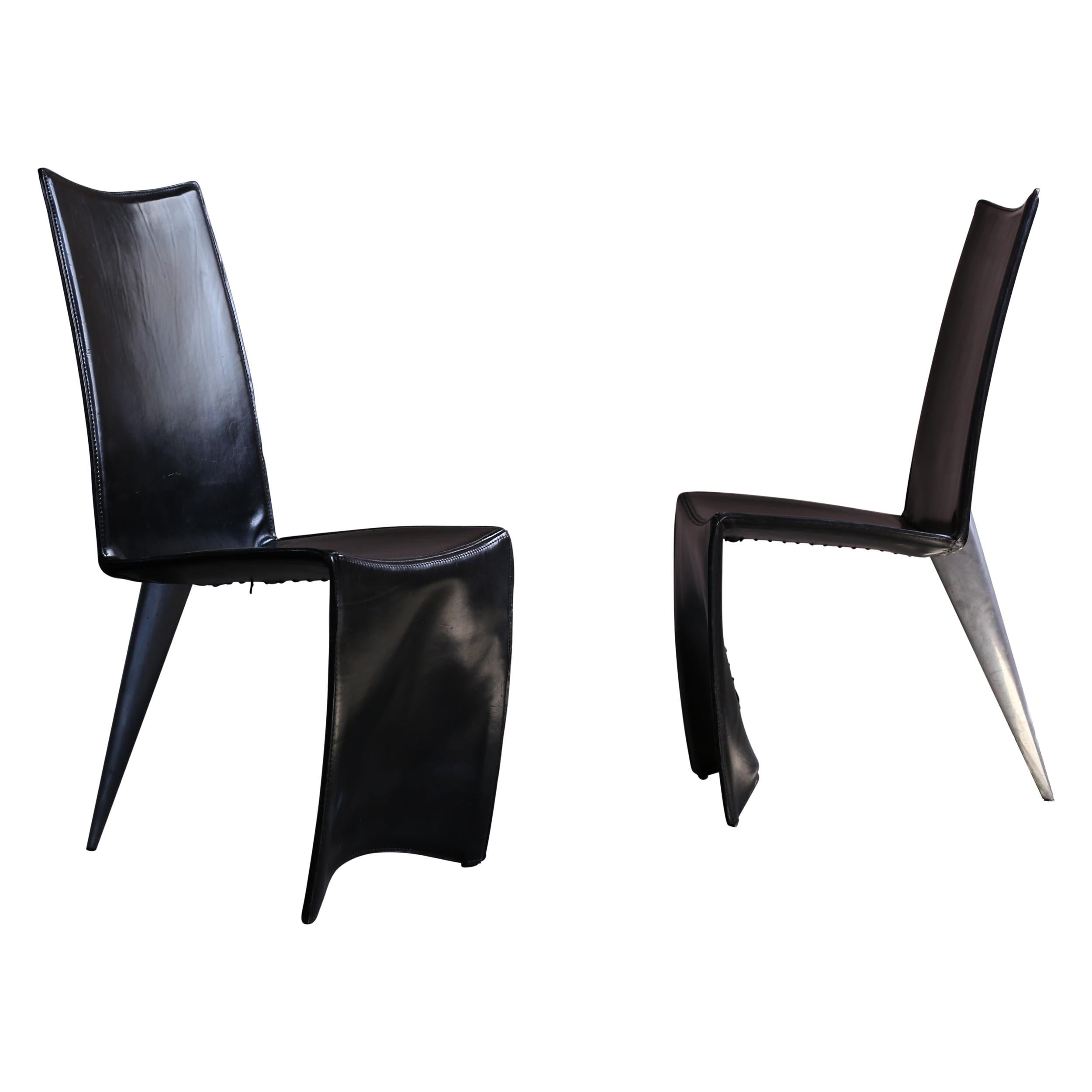 Set of Chairs Designed by Philippe Starck from Manin, Tokyo