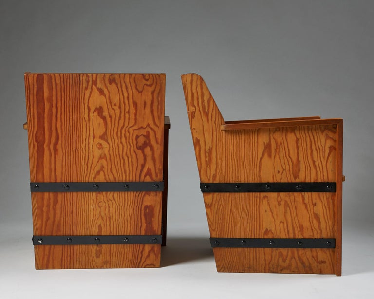 Set of Chairs Plus Table, Anonymous, Sweden, 1950s For Sale 3