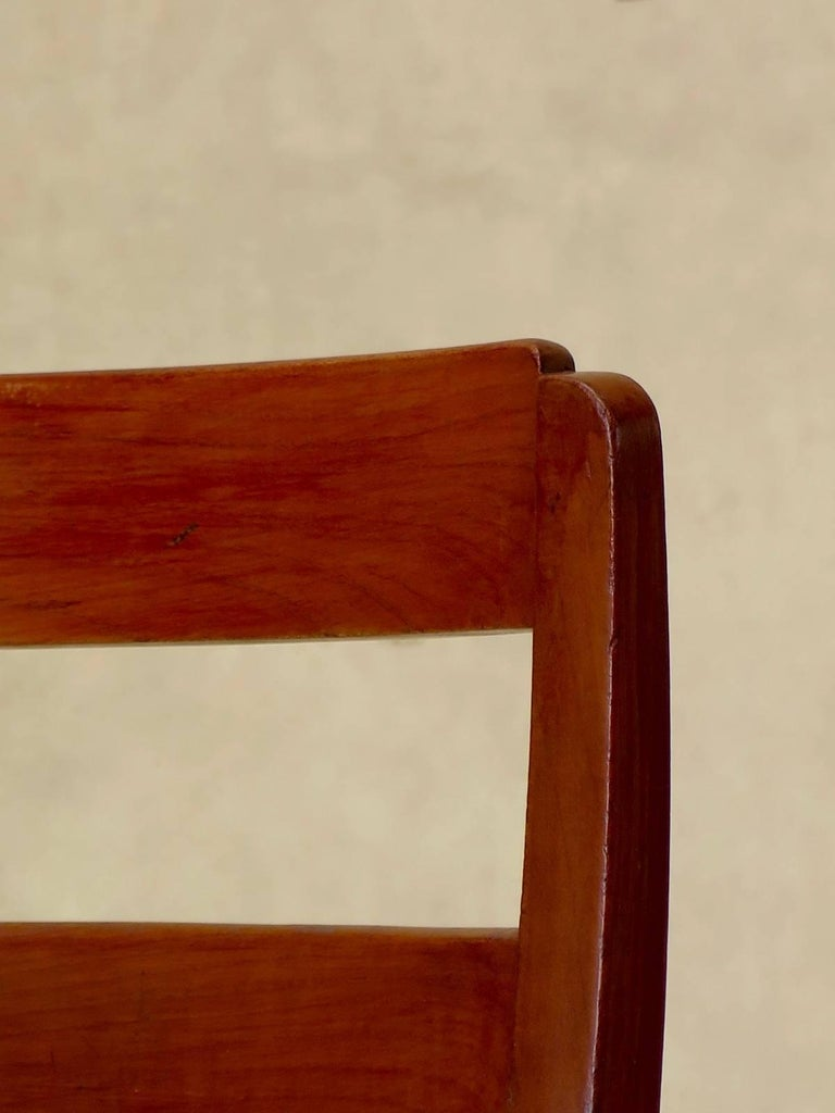 Set of Chinese Art Deco Style Dining Chairs, France, circa 1930s For Sale 1