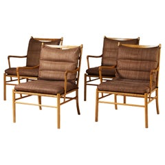 Set of Colonial Chairs Model PJ 149 by Ole Wanscher for P. Jeppesen, Denmark