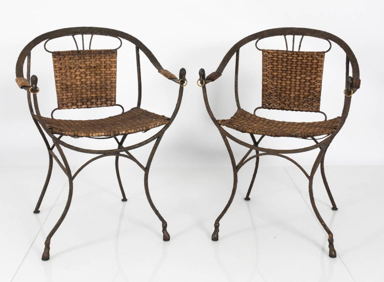 Set Of Contemporary Iron Chairs For Sale At 1stdibs