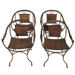 Set of Contemporary Iron Chairs