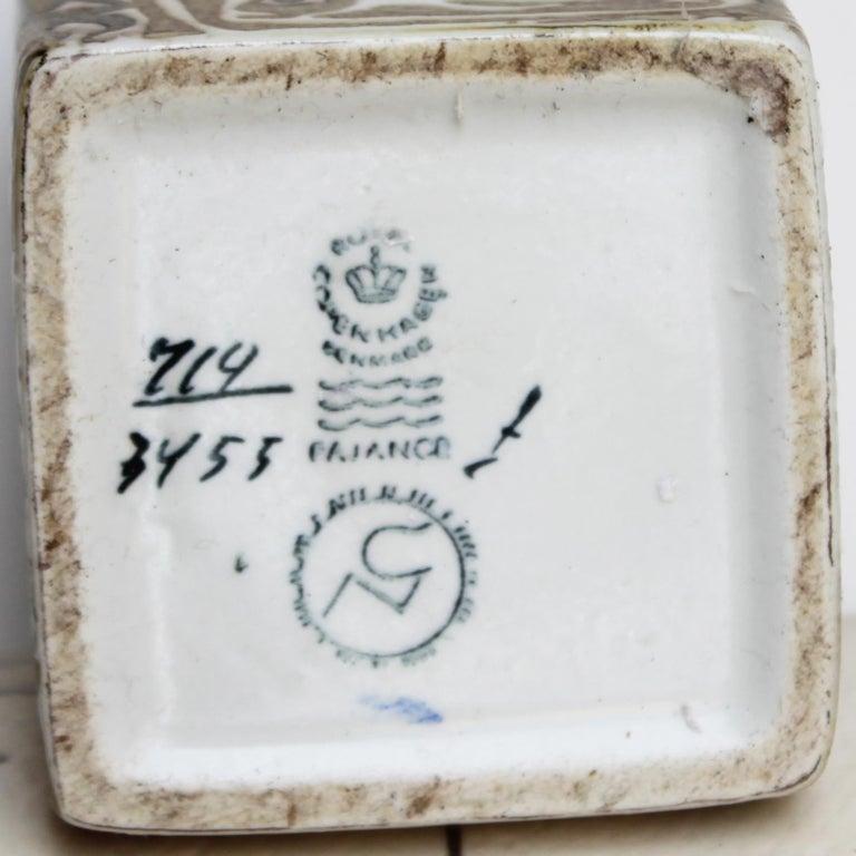 Set of Danish Ceramics for Royal Copenhagen Sixties For Sale 11