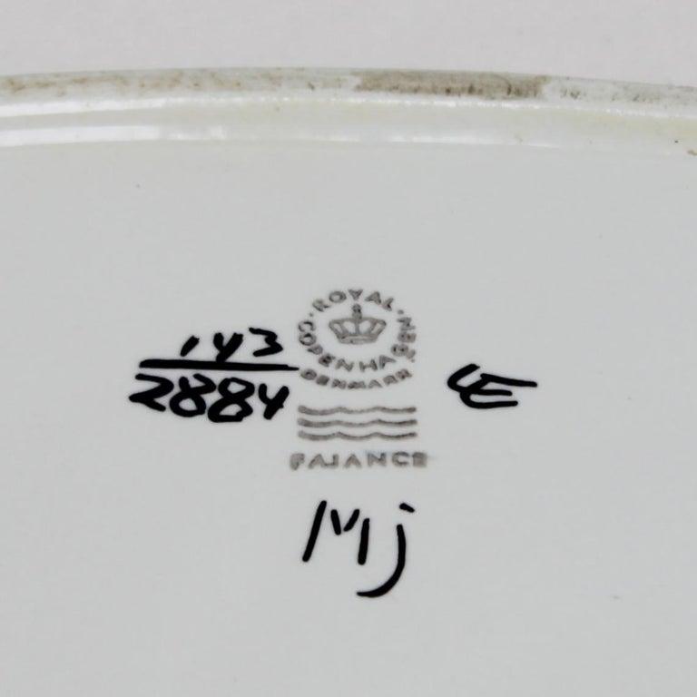 Set of Danish Ceramics for Royal Copenhagen Sixties For Sale 13
