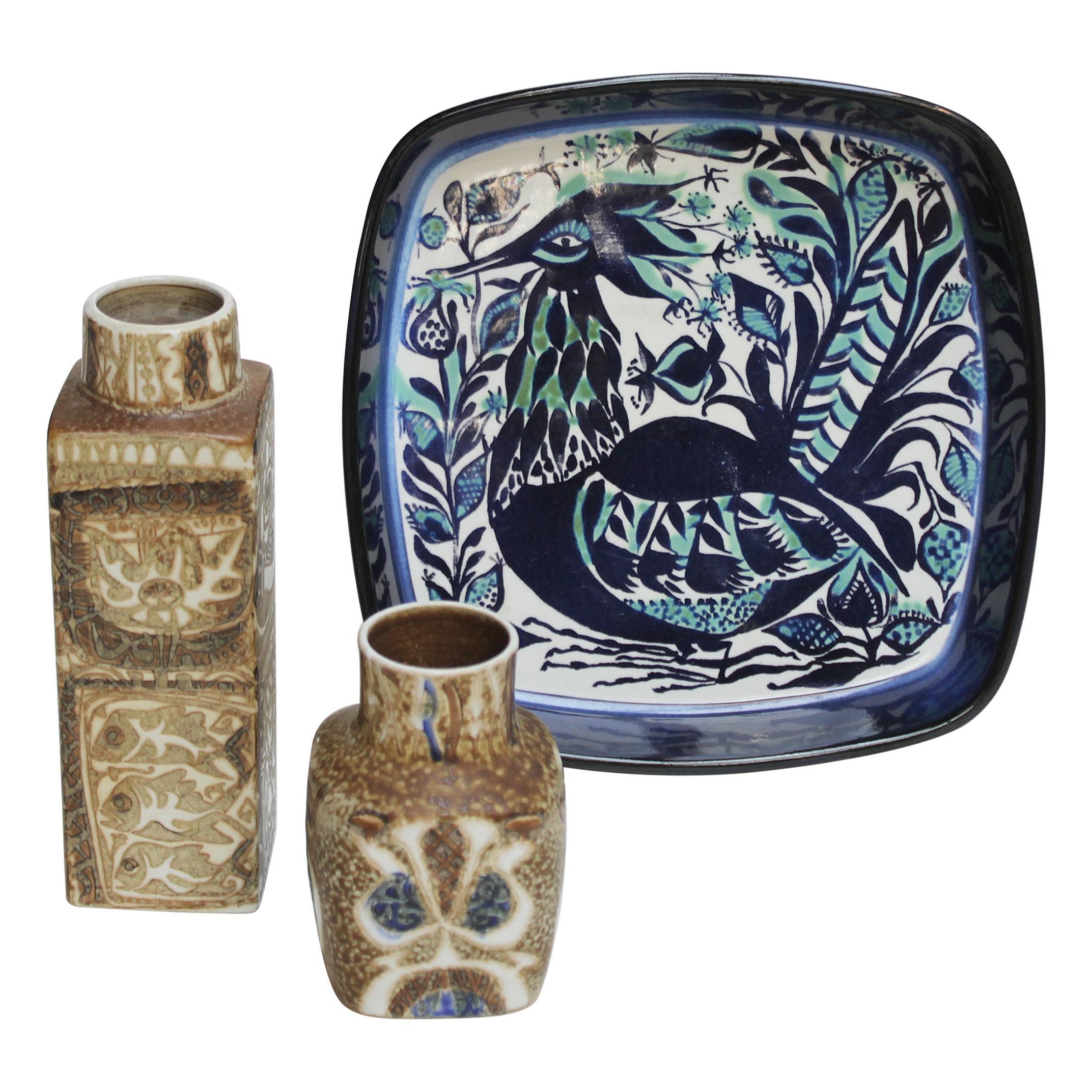 Set of Danish Ceramics for Royal Copenhagen Sixties