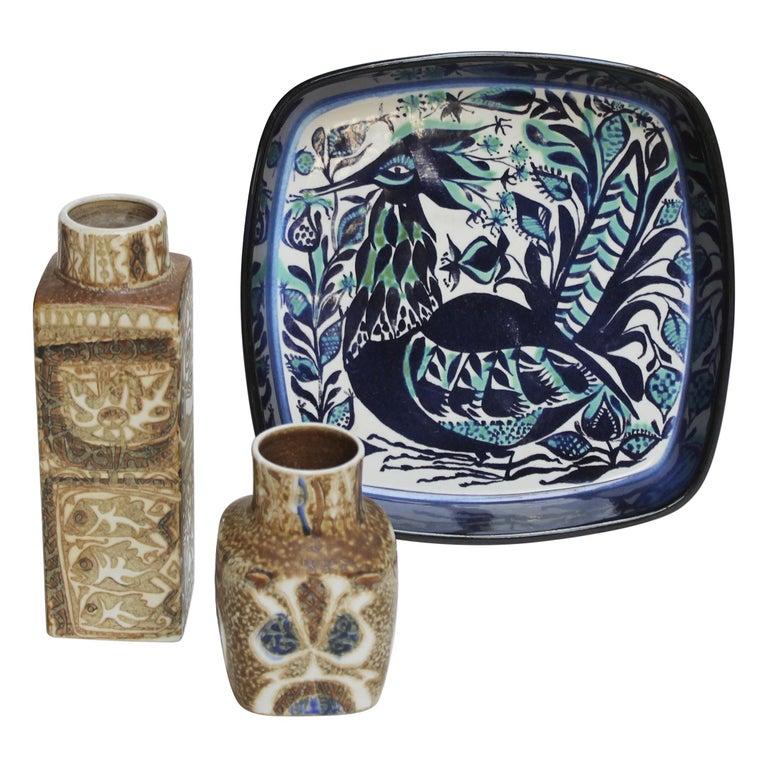 Set of Danish Ceramics for Royal Copenhagen Sixties For Sale
