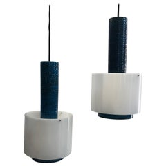 Set of Danish Kähler Lamps from the 1960s