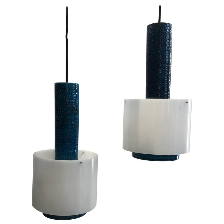 Set of Danish Kähler Lamps from the 1960s For Sale